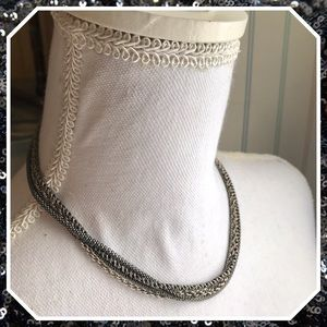 Silpada Sterling Silver Four Strand Necklace